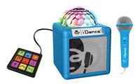 iDance bluetooth luidspreker Cube Sing 200 cyaan-Linkerzijde