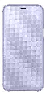 Samsung Wallet Cover pour Galaxy A6 mauve-Avant