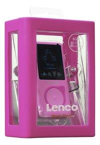 Lenco lecteur MP4 MP-108 8 Go Pink-Côté gauche