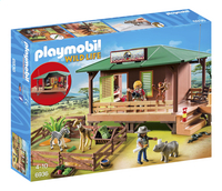 Playmobil Wild Life 6936 Rangerpost voor gewonde dieren