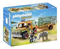 Playmobil Wild Life 6937 Ranger terreinwagen met olifant