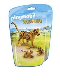 Playmobil Wild Life 6940 Léopard avec bébés
