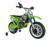 Injusa elektrische moto Cross CR Kawasaki-Vooraanzicht