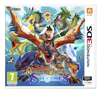 3DS Monster Hunter Stories FR