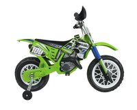 Injusa elektrische moto Cross CR Kawasaki-Linkerzijde