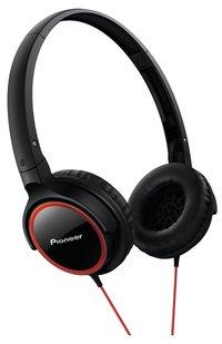 Pioneer hoofdtelefoon SE-MJ512 zwart/rood