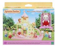 Sylvanian Families 5319 - Le château et Crème, bébé Lapin Chocolat-Avant