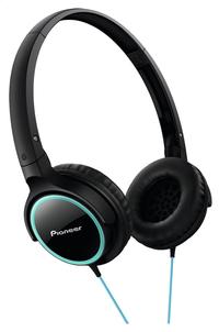Pioneer casque SE-MJ512 noir/turquoise