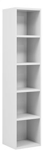 Bibliothèque Babel blanc-Côté gauche