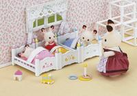 Sylvanian Families 4448 - Lits superposés à 3 couchettes-Image 1