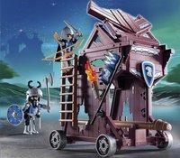 Playmobil Knights 6628 Tour d'attaque des chevaliers du Faucon-Image 1