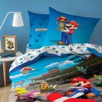 Dekbedovertrek Mario Bros Mario K Winner katoen 140 x 200 cm-Afbeelding 1
