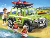 Playmobil Summer Fun 6889 Familieterreinwagen met kajaks-Afbeelding 1