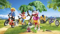Playmobil Summer Fun 6890 Cyclistes avec vélos et remorque-Image 1