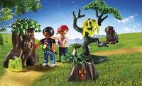 Playmobil Summer Fun 6891 Enfants avec végétation et lampe torche-Image 1