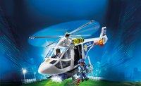 Playmobil City Action 6921 Hélicoptère de police avec projecteur de recherche-Image 1