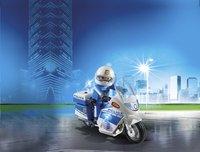 PLAYMOBIL City Action 6923 Moto de policier avec gyrophare-Image 1