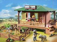 Playmobil Wild Life 6936 Rangerpost voor gewonde dieren-Afbeelding 1