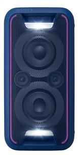 Sony luidspreker bluetooth GTK-XB5 blauw-Vooraanzicht