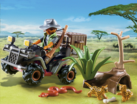 Playmobil Wild Life 6939 Stroper met quad-Afbeelding 1