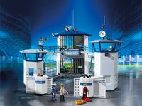Playmobil City Action 6919 Politiebureau met gevangenis-Afbeelding 1