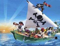 PLAYMOBIL Pirates 70151 Piratenschuit met onderwatermotor-Afbeelding 1