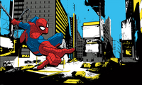Muursticker Spider-Man