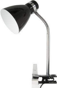 Clip On Lamp noir