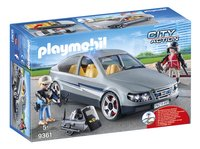PLAYMOBIL City Action 9361 SIE - anonieme wagen-Linkerzijde