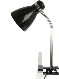 Clip On Lamp noir-Côté droit
