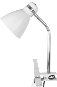 Clip On Lamp blanc