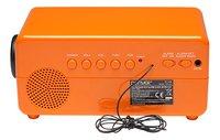 Denver radio-réveil rétro CR-425 orange-Arrière