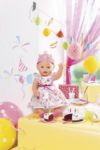 BABY born kledijset Deluxe Partyset-Afbeelding 4