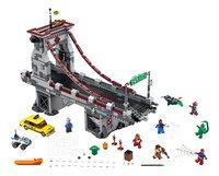 LEGO Super Heroes 76057 Spider-Man : Le combat suprême sur le pont des Web Warriors-Avant