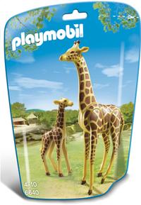 Playmobil City Life 6640 Giraf met jong-Vooraanzicht