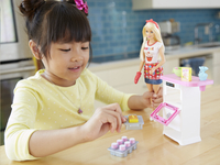 Barbie speelset Bakery Chef-Afbeelding 4