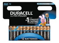 Duracell 12 AAA-batterijen Ultra Power