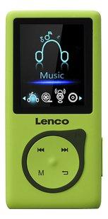 Lenco Mp4-speler MP-108 8 GB Lime-Vooraanzicht