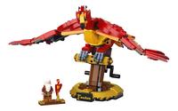 LEGO Harry Potter 76394 Felix, de feniks van Perkamentus-Vooraanzicht