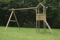 BnB Wood portique avec tour de jeu Tildonk
