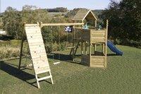 BnB Wood speeltoren Nieuwpoort Commando Piraat met blauwe glijbaan-Afbeelding 1