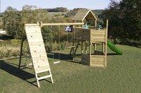 BnB Wood speeltoren Nieuwpoort Commando Piraat met groene glijbaan-Afbeelding 1