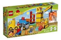 LEGO DUPLO 10813 Le grand chantier-Avant