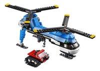 LEGO Creator 31049 Dubbel-rotor helikopter-Vooraanzicht
