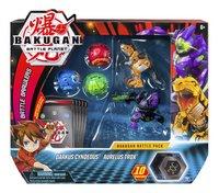 Bakugan Battle 5-Pack - Darkus Cyndeous & Aurelus Trox-Vooraanzicht