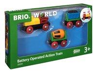 BRIO World 33319 Train de marchandises avec lumière-Côté gauche