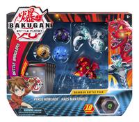 Bakugan Battle 5-Pack - Pyrus Howlkor & Haos Mantonoid-Vooraanzicht