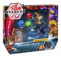 Bakugan Battle 5-Pack - Darkus Cyndeous & Aurelus Trox-Linkerzijde