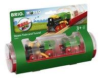 BRIO World 33892 Train à vapeur et tunnel-Côté gauche