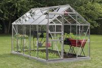 ACD Serre Intro Grow Lily 6,2 m² met tuinbouwglas + fundering aluminium-Afbeelding 1
